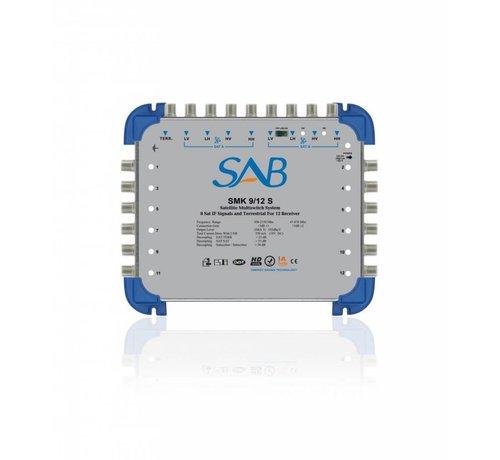 SAB  SAB Multiswitch SMS 9/16 (K216) voor 2 satellieten op 16 gebruikers