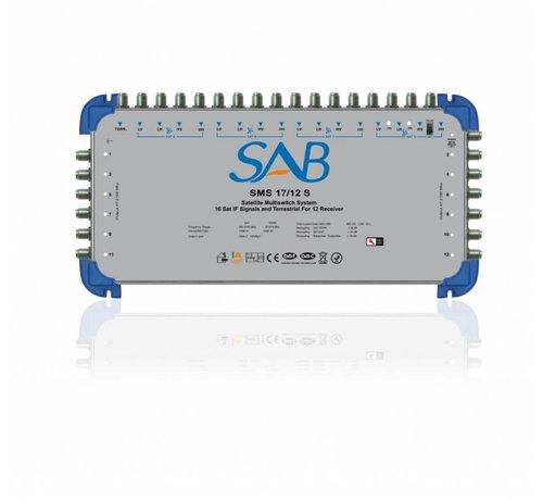 SAB SAB multiswitch SMS 17/12 voor 4 satellieten op 12 gebruikers