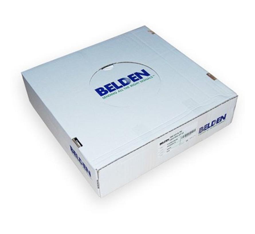 Belden H125D00 Duobond+ PVC kleur zwart per 100 meter
