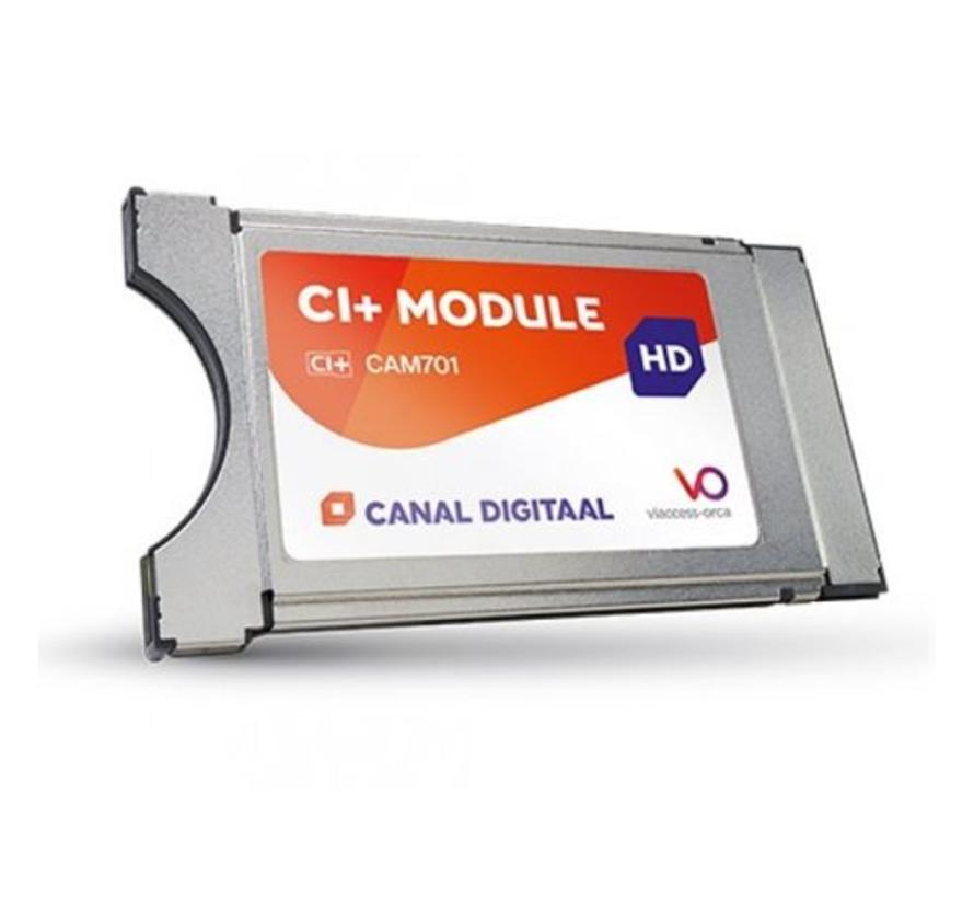 Canal Digitaal CAM-701 CI+ module incl. ingebouwde smartcard