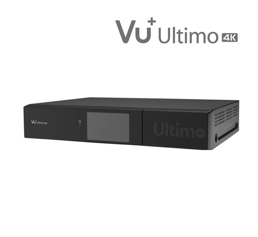 VU+ Ultimo 4K incl. DUAL FBC DVB-C tuner