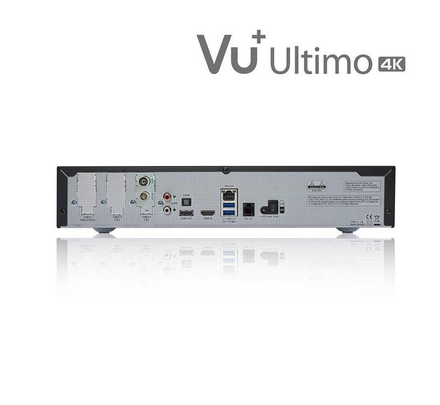 VU+ Ultimo 4K incl. DUAL FBC DVB-S2X tuner