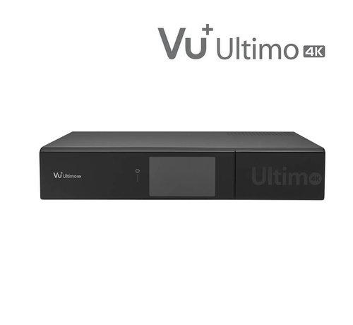 VU+ VU+ Ultimo 4K incl. DUAL FBC DVB-S2X tuner
