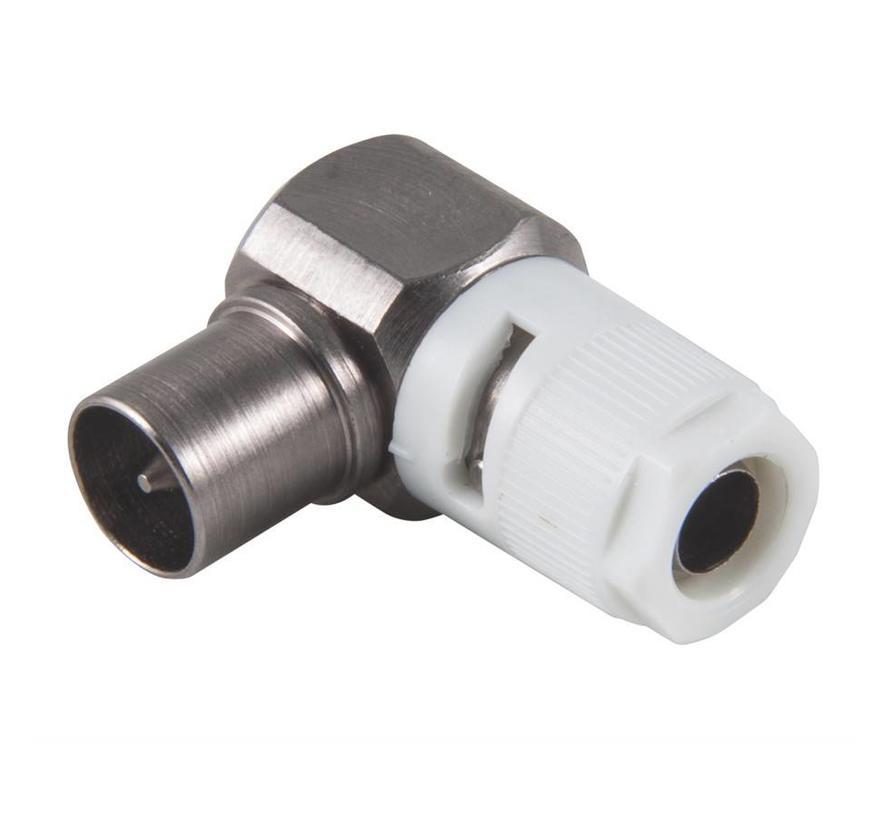 Triax KOSWI 4 IEC male Class A+ connector