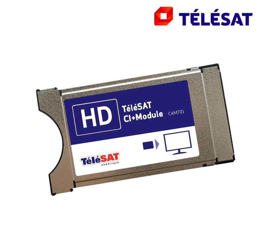 Telesat CAM-701 CI+ module incl. ingebouwde smartcard