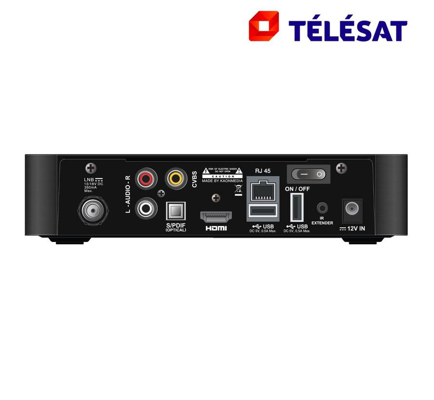 Telesat MZ-101 HD met ingebouwde Viaccess Orca smartcard