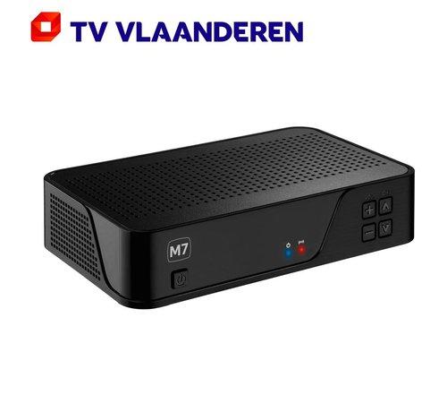 M7 TV Vlaanderen MZ-101 HD met ingebouwde Viaccess Orca smartcard