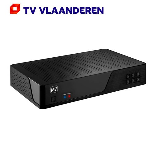 M7 TV Vlaanderen MP-201 HD recorder 500GB