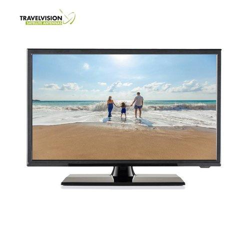 "Travel Vision Travel Vision 5319-B LED TV 19"" CI S2/T2/C 12V DVD HEVC H.265"