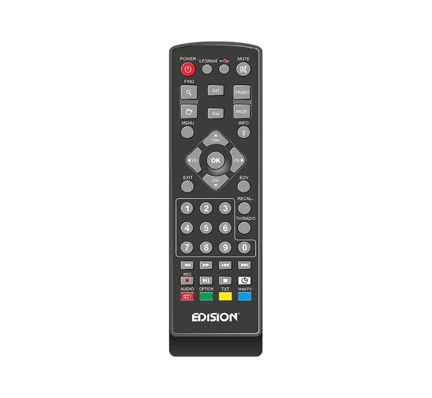 Edision Proton T265 LED - DVB-C/T2 H.265 HEVC