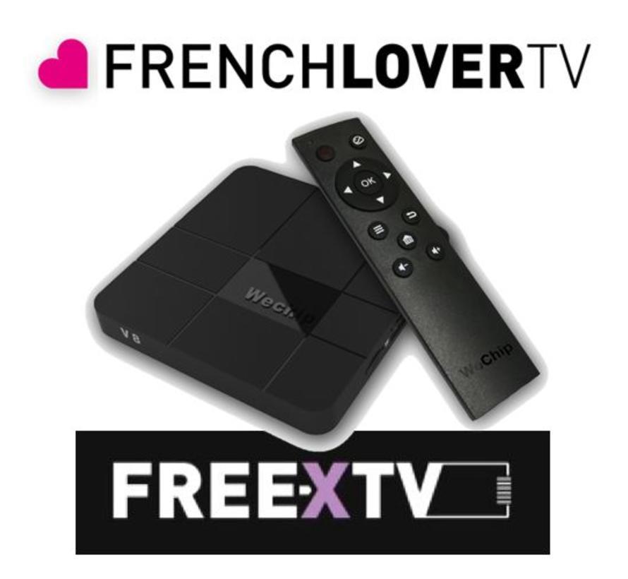 Free X  IP TV - 8 kanalen voor 12 maanden incl. ontvanger