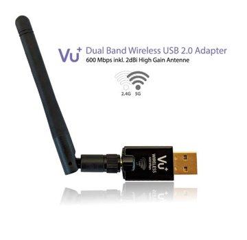 VU+ VU+ dual band WiFi dongle USB 2.0 adapter 600 Mbps