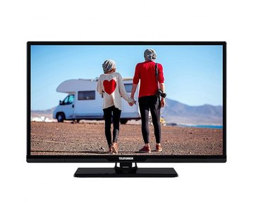 Telefunken Telefunken LED Smart TV 24 Inch (zwart)