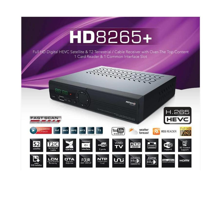 Amiko HD 8265+ combo