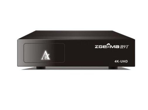Zgemma Zgemma H9t 4k UHD HEVC kabel en terrestrisch