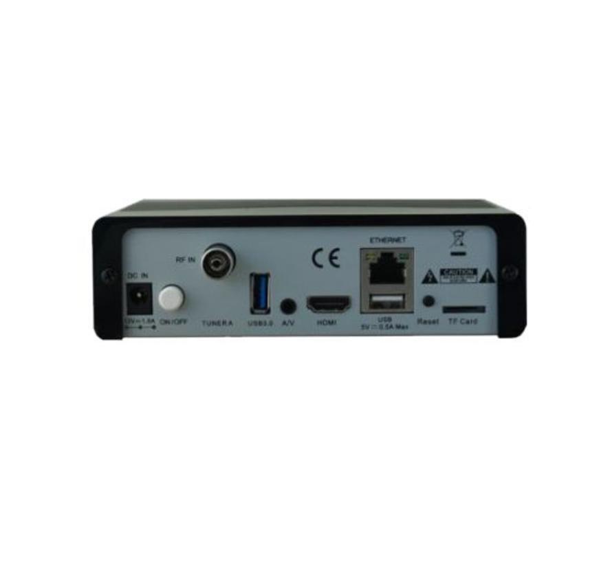 Zgemma H9S 4K UHD HEVC kabel en terrestrisch