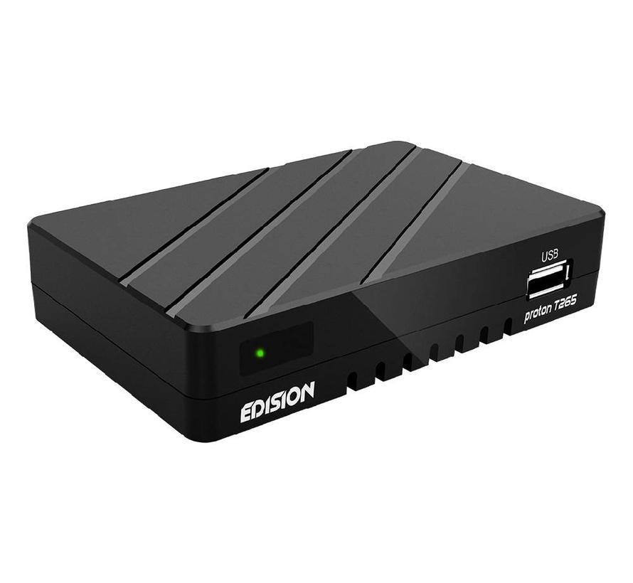Edision Proton T265 - DVB-C/T2 H.265 HEVC