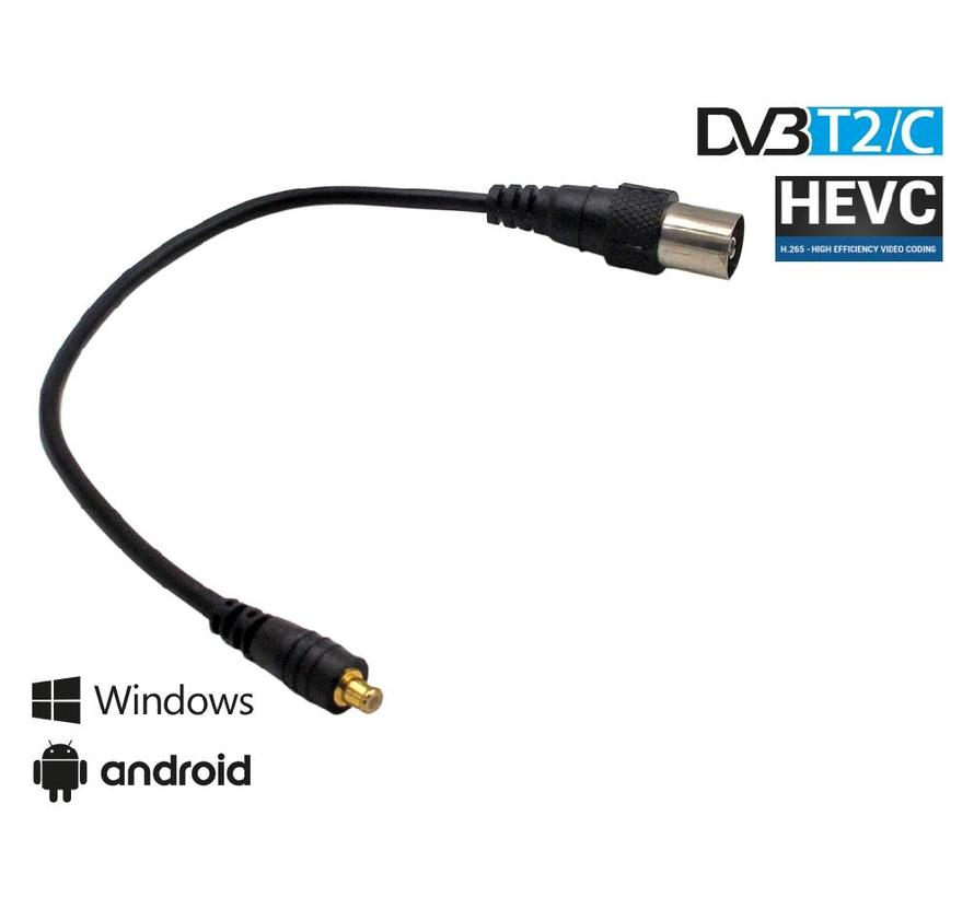 Edision EDI-combo DVB-C/T2 H.265 USB tuner