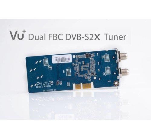 VU+ VU+ FBC DUAL DVB-S2X versie 2 tuner