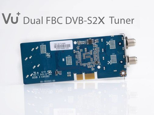 VU+ VU+ FBC dual DVB-S2X v2 tuner