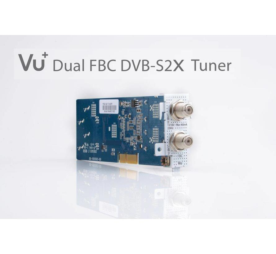 VU+ FBC DUAL DVB-S2X versie 2 tuner