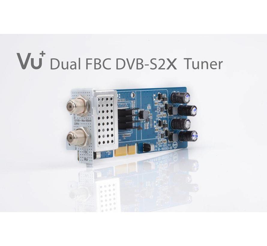 VU+ FBC DUAL DVB-S2X v2 tuner