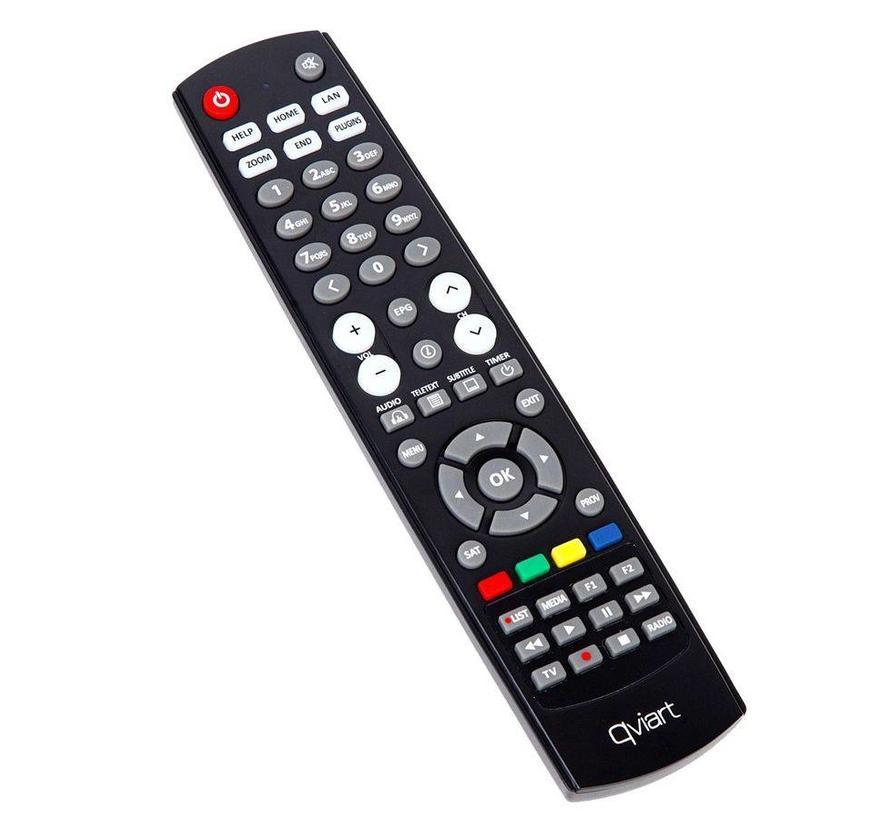 Qviart Lunix3 4K PVR dual DVB-S2 FBC Tuner + Optionele tuner mogelijkheid