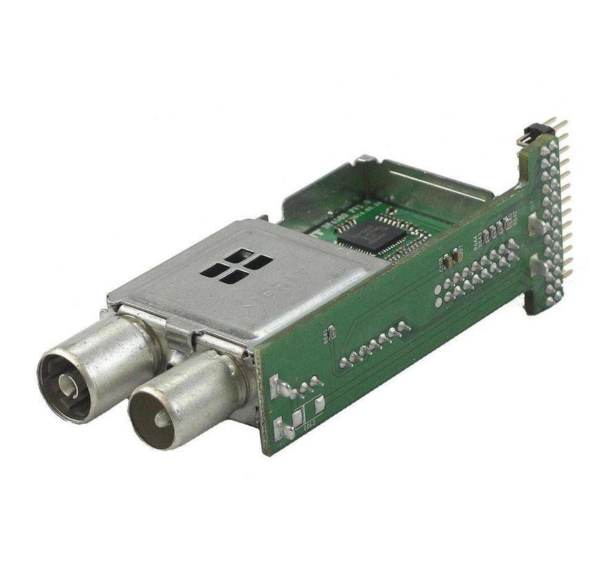 Qviart losse Dual DVB-C tuner voor Lunix3 4K