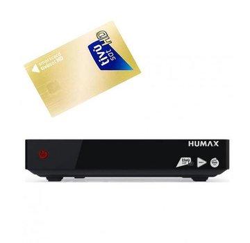Tivusat Humax HD-6800S Tivumax max pro 2 + Tivusat smartcard