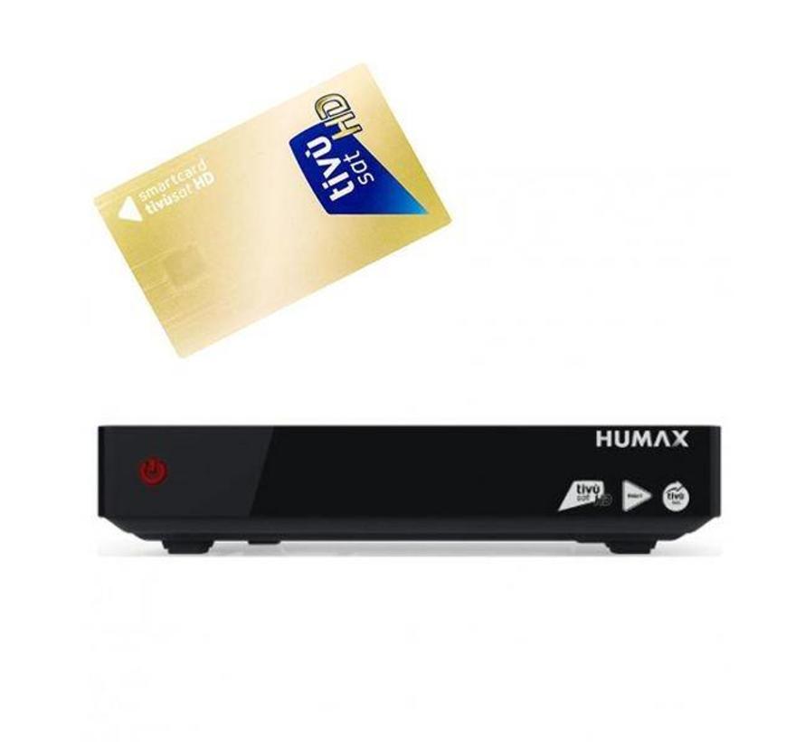 Humax HD-6800S Tivumax max pro 2 + Tivusat smartcard