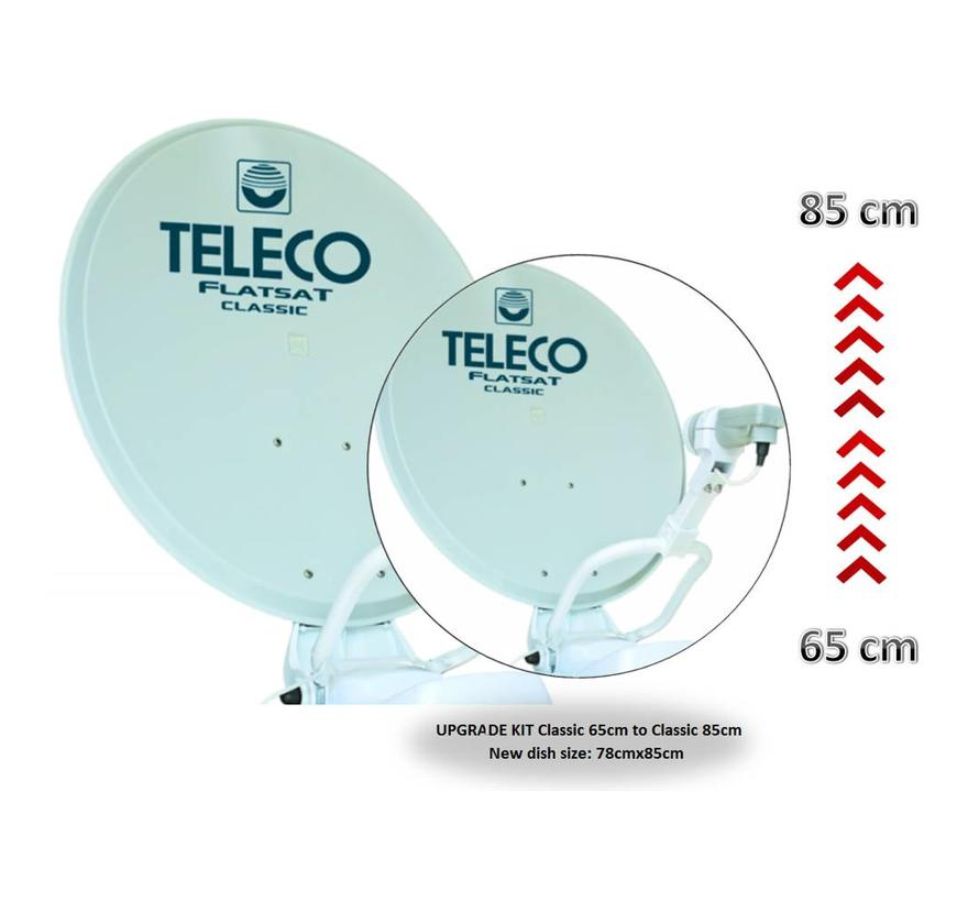 Teleco 19296 Upgrade set Classic NT 65cm naar 85cm
