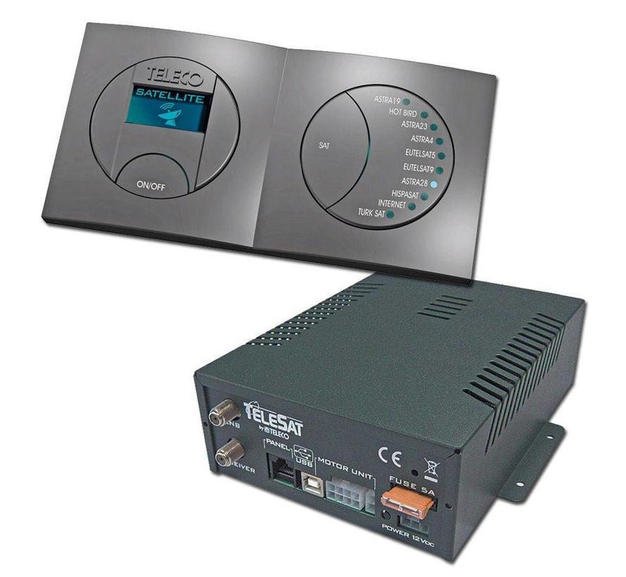 DVB-S2 upgrade set Teleco TeleSat