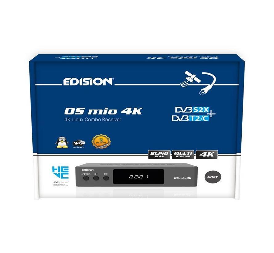 Edision OS MIO 4K S2X + T2/C