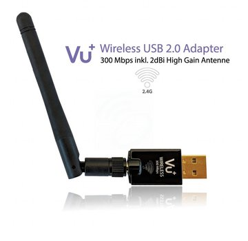 VU+ VU+ dual band WiFi dongle USB 2.0 adapter 300 Mbps