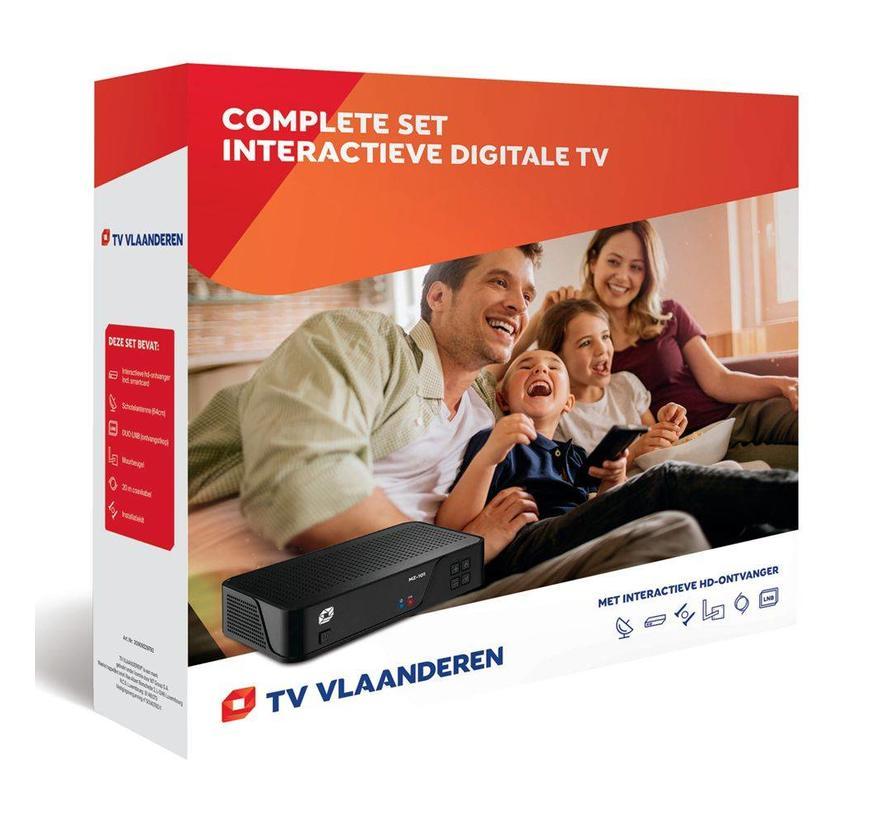 TV Vlaanderen startersset (thuis)