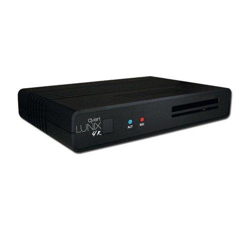 Qviart Qviart Lunix 4K UHD  Combo DVB-S2X/T2/C  SC/CI+
