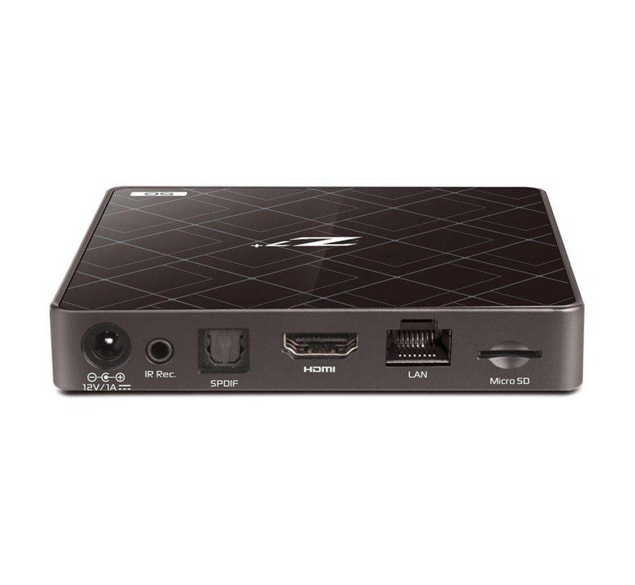 Formuler Z7+ 5G mediaspeler 4K UHD Zwart