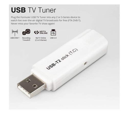 Formuler Formuler USB DVB-T2 Tuner voor  S en Z series