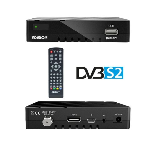 Edision Edision Proton - DVB-S2 FTA