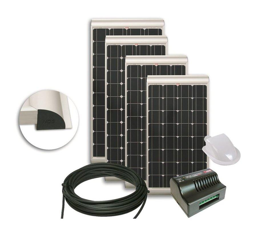 NDS Solenergy 100W Zonnepaneel SET + SC300M KP100SCM