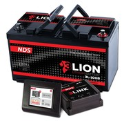 NDS NDS 3L ION system Lithium Accu 12V-100Ah + 3LINK 100A 3L-100B