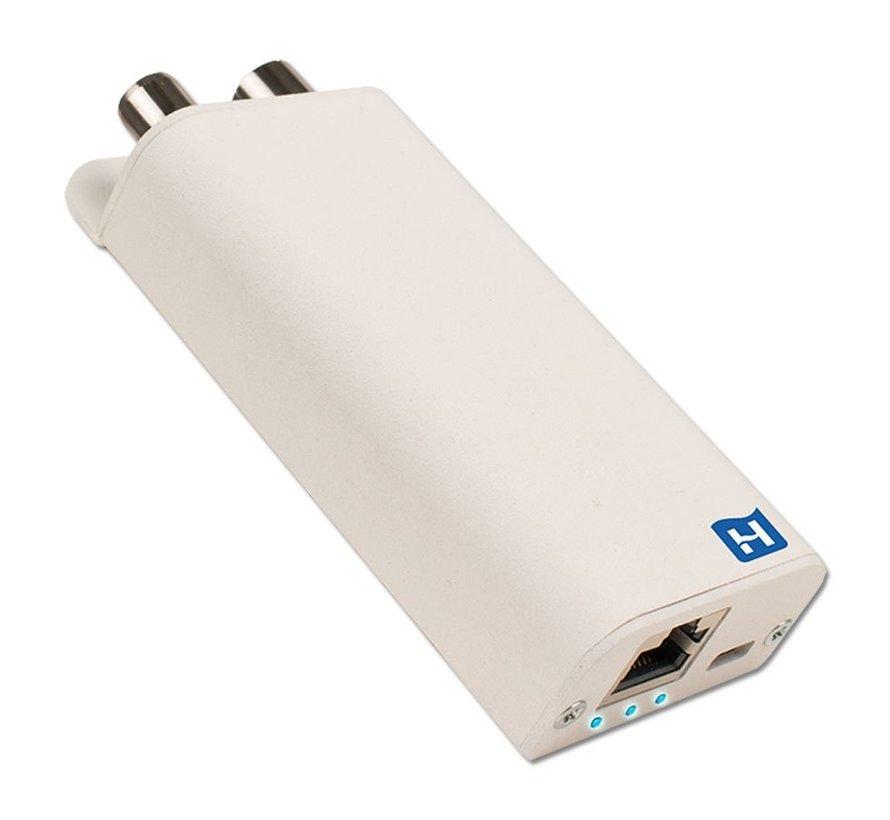 Hirschmann INCA 1G white Gigabit EoC Adapter