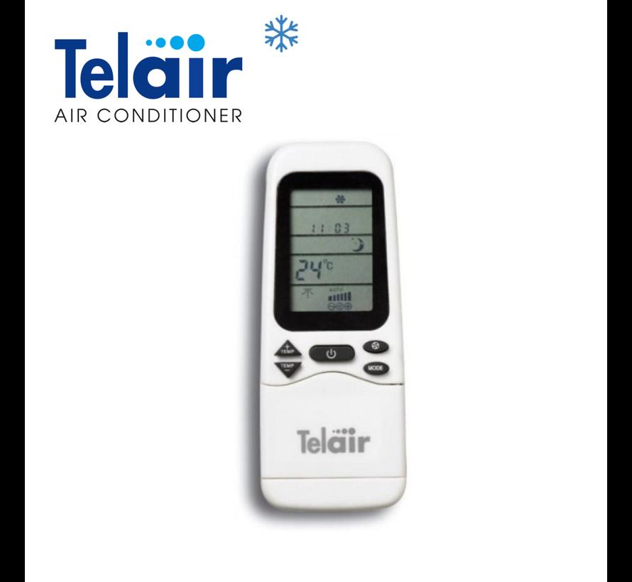 Telair Dual-Clima 8400H Airco/Heater/RC 900W 8400BTU 2,46kW