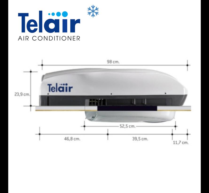 Telair Silent 8400H Airco/Heater/RC 900W 8400BTU 2,46kW