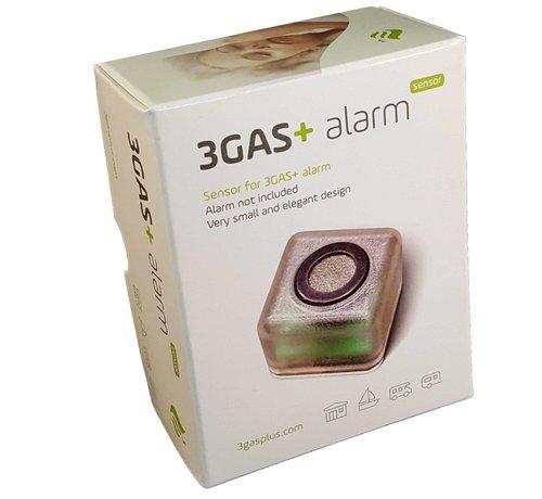 3GAS 3GAS+ extra sensor voor Square gasalarm Propaan, Butaan, LPG, Koolmonoxide