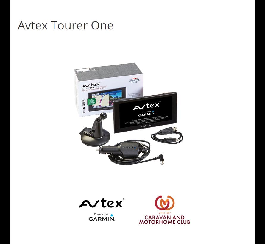 Avtex Tourer One camper navigatie