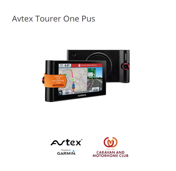 Avtex Avtex Tourer One Plus met Dash CAM camper navigatie