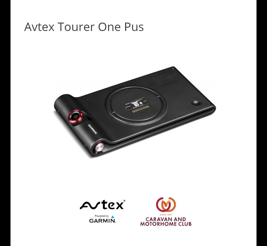 Avtex Tourer One Plus met dash cam camper navigatie
