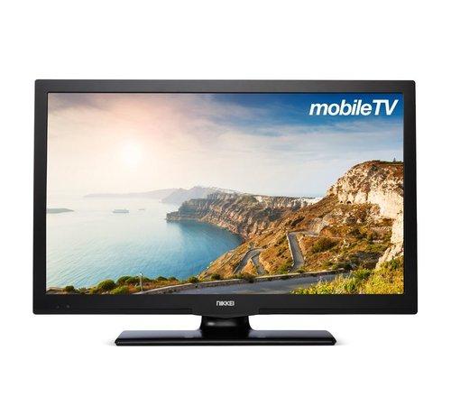 """Nikkei Nikkei NL22MBK 22"""" 12V LED FHD DVB-S2/C/T2 CI+ HEVC"""