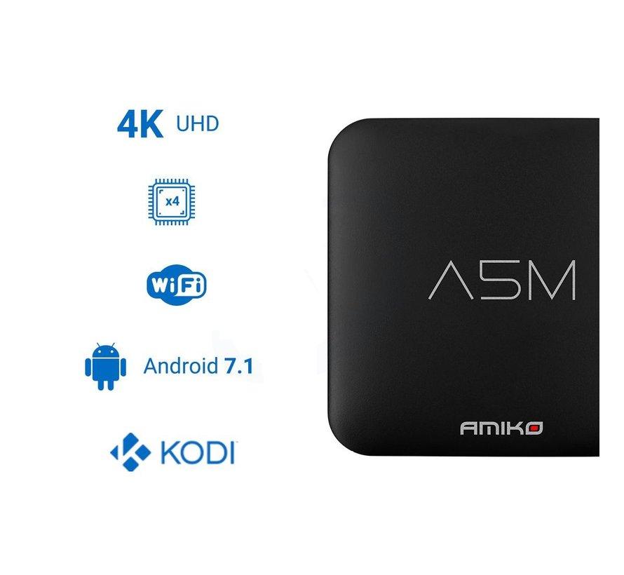 Amiko A5M OTT Android 7.1 4K Ultra HD